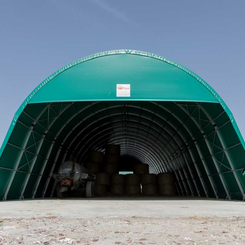 Tunnels agricoles à arceau