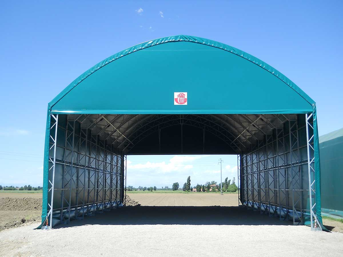 Tunnel for storage use